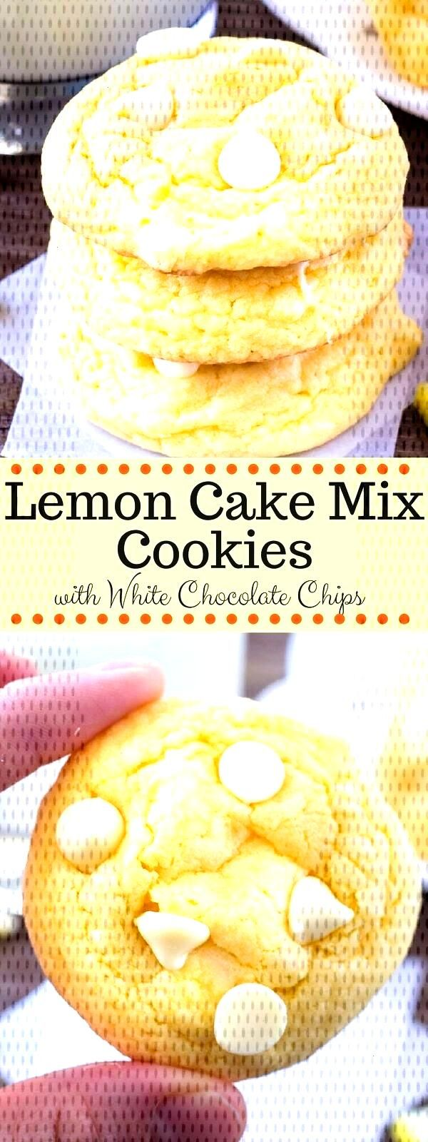 Love lemon? Then try these easy lemon cake mix cookies. Theyre extra soft with a delicious hint of