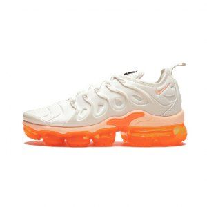 3be5126c67df1 Nike Air VaporMax Plus Phantom Total Orange Black Crimson Tint AO4550-005  Women s Running Shoes