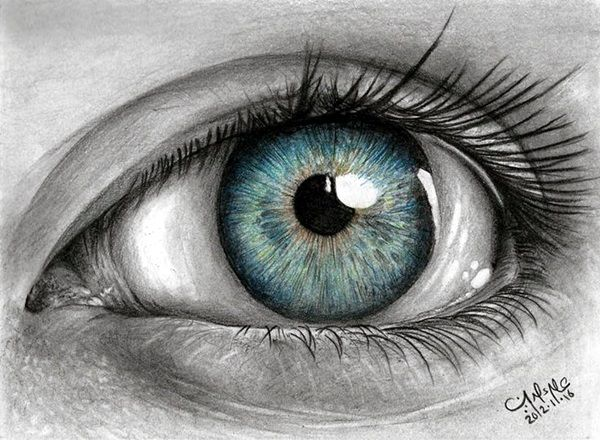 How to draw an eye 40 amazing tutorials and examples tutorials eye and drawings