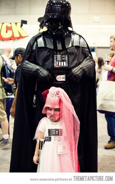 Princess of the dark side. Awesome. | Geek and Things ...