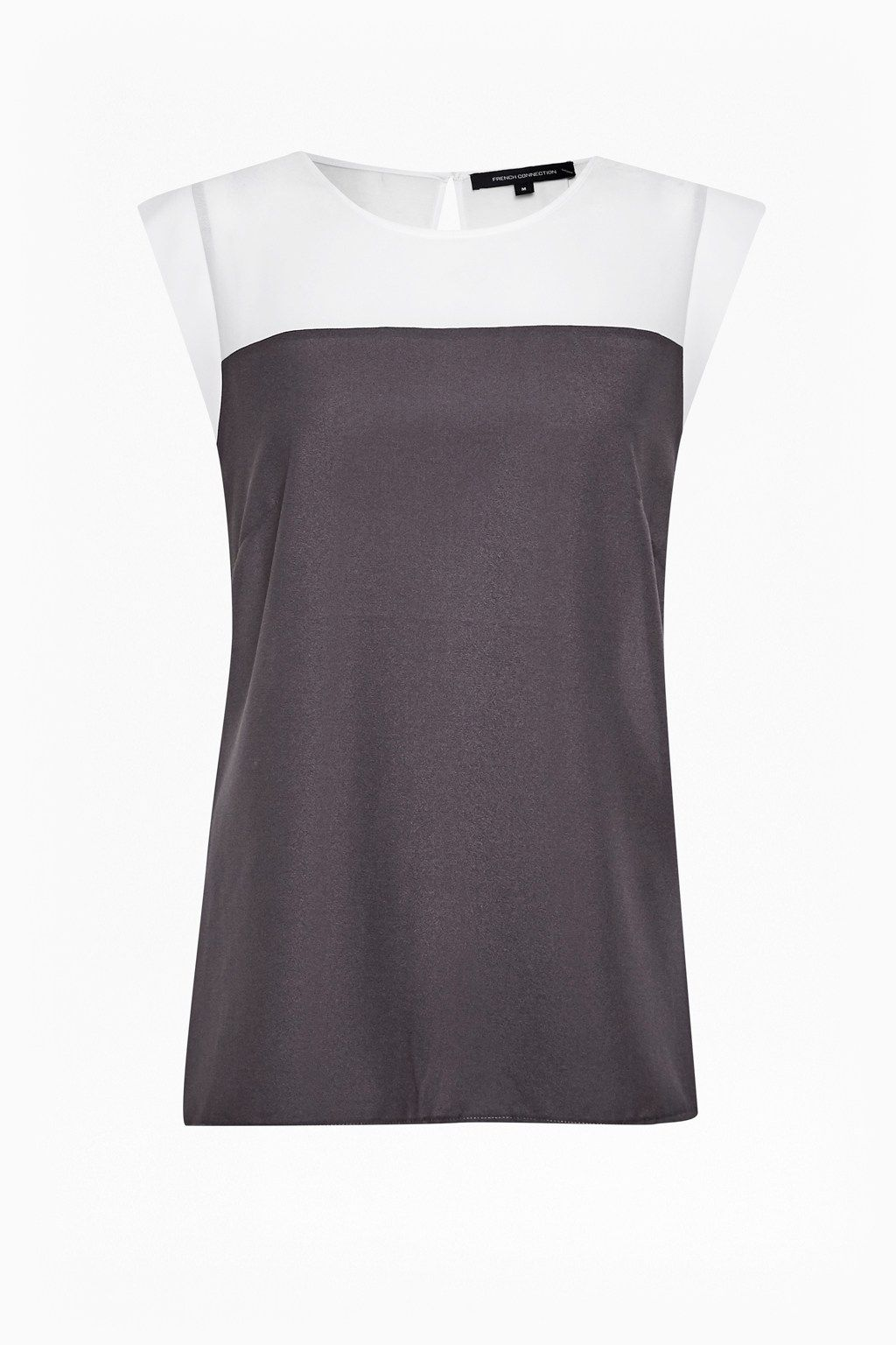 f3cd75ad17f Polly Plains Colour Block Top   Tops   French Connection Usa Fashion  Trends, Womens Fashion