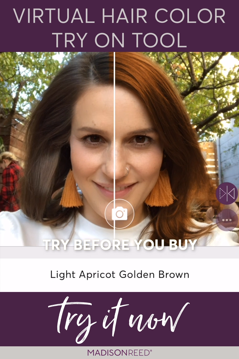 Try On Different Hair Color Shades With Our New Virtual Makeover Tool Use Your Try On Different In 2020 Hair Color Changer Virtual Hair Color Light Hair Color
