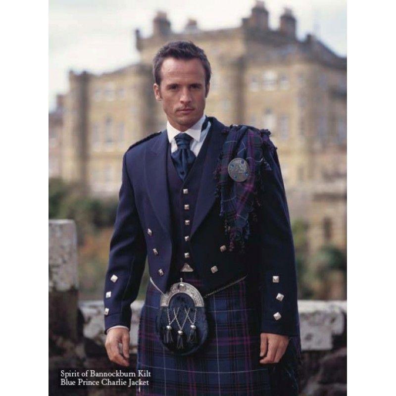 Highland dress code wedding invitation