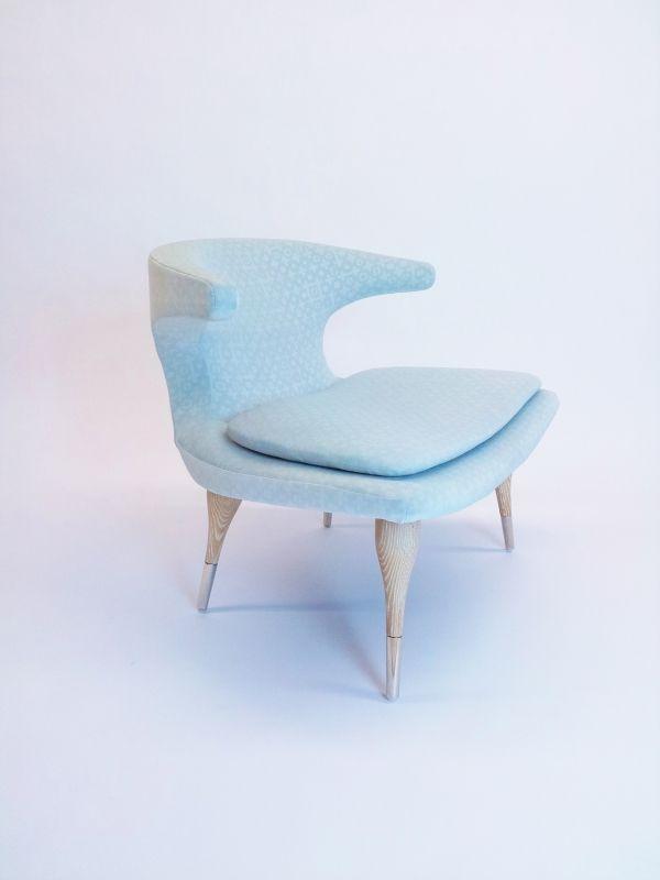 Diamond & Baratta custom lounge chair.