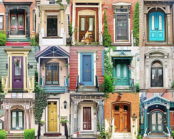 Exceptional Doors Photography, Door Collection, Door Poster, Corn Hill, Rochester  Photography, Rochester NY, Old Doors, Architecture, Colorful Doors |  Eingangstür Und ...