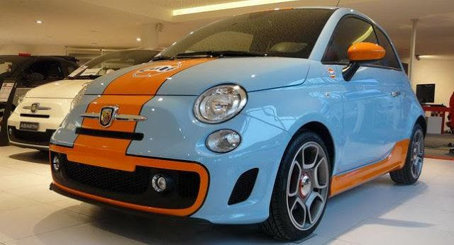 Fiat Abarth 500 Gulf Limited Edition Avec Images