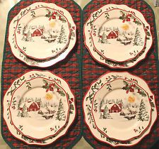 better homes and garden christmas salad plates 2014 - Google ...