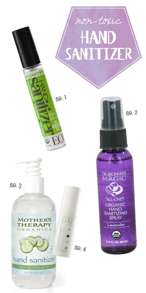 Non Toxic Hand Sanitizers Health Beauty Tips Beauty Products