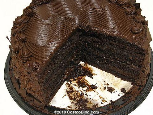 Costco Chocolate Cake!