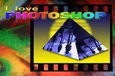 Photoshop tutorial Italiano - Foto a piramide 3d