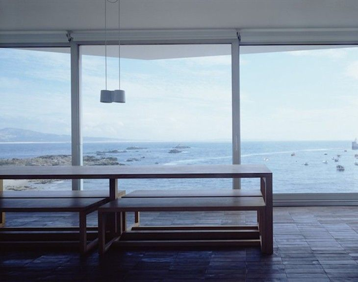 Inside David Chipperfield's Summerhouse via Curbed | Remodelista