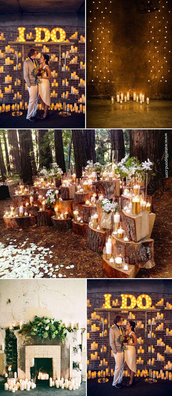 Wedding reception decoration ideas with lights   Stunning Wedding Reception Decoration Ideas to Steal  Wedding