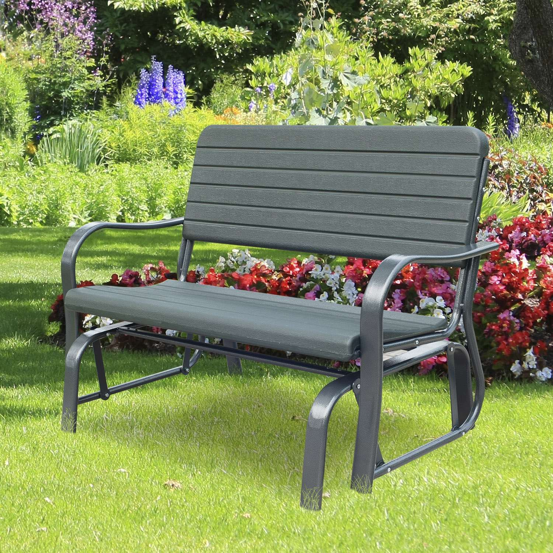 Gartenbank Weiss 2 Sitzer 8211 Gartenbank Weiss Kunststoff 2