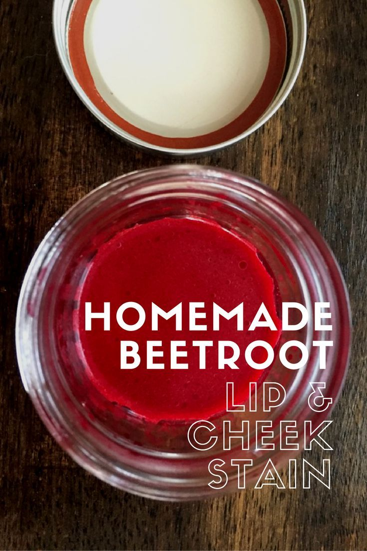 Zero Waste Beetroot Lip & Cheek Stain Diy red lip stain