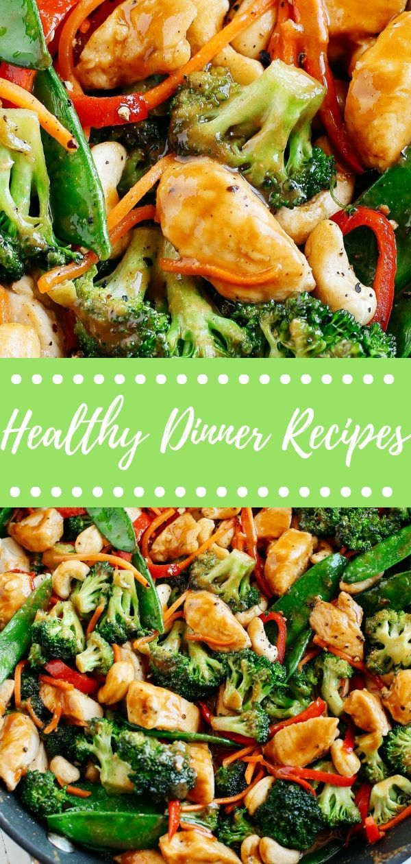 12 Easy Healthy Dinner Recipes for Family