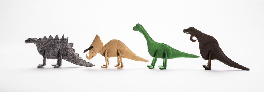 Fuzzles Dinosaur puzzle pets
