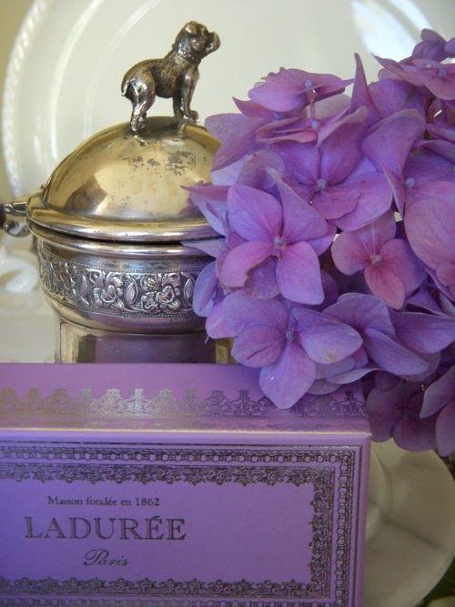 #laduree violet...