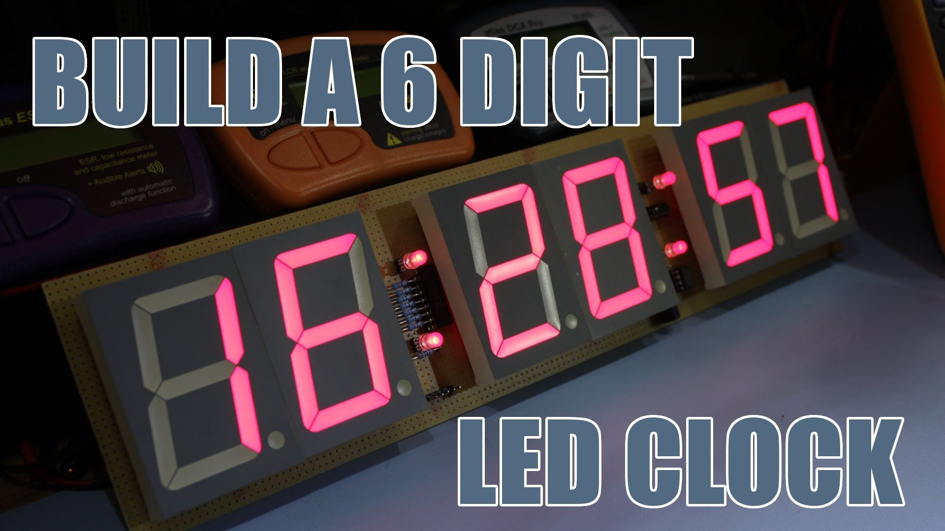 Sdgee 021 Build A 6 Digit 23 Led Clock Block Diagram In 2018 Using Pic Microcontroller