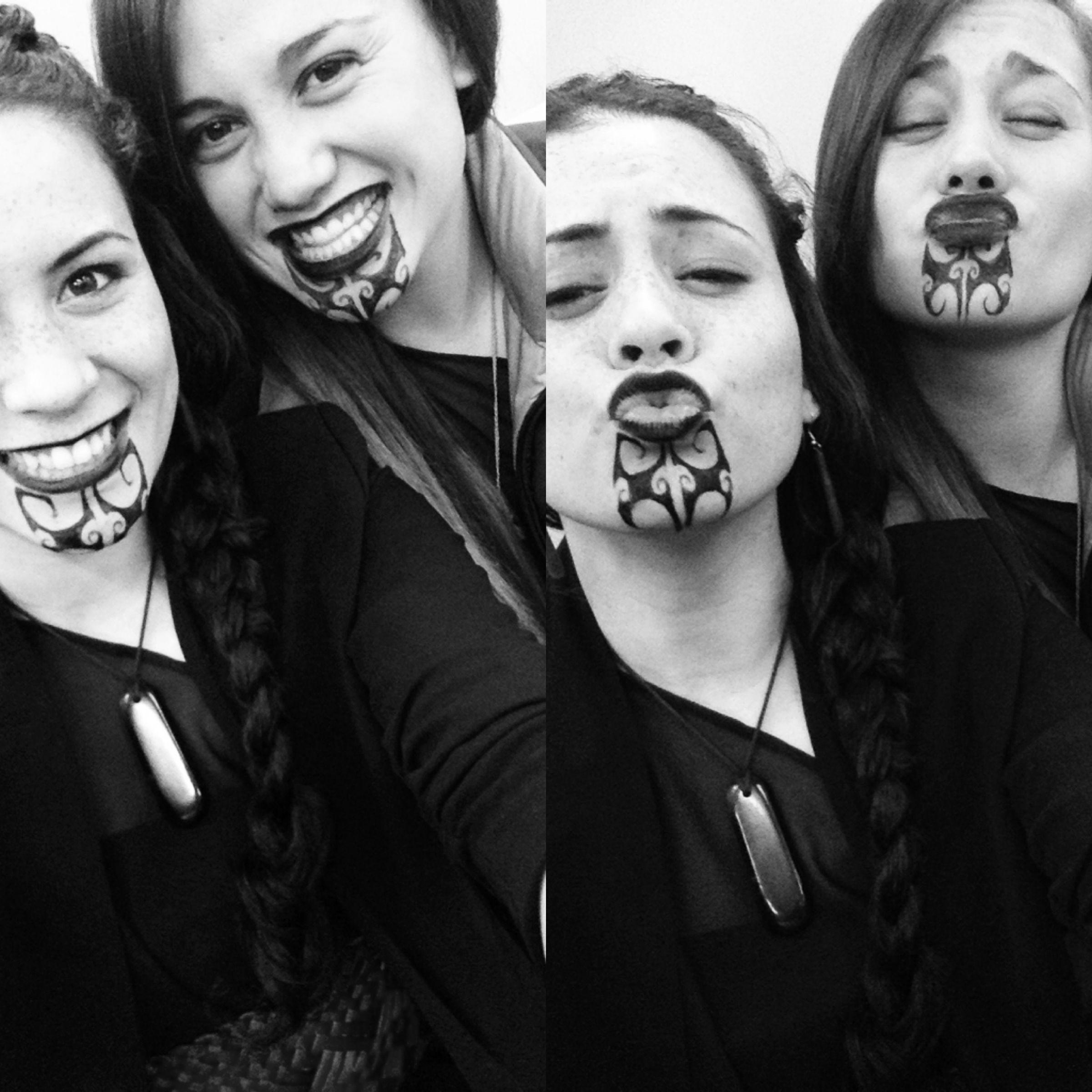 Female Maori Mouth Tattoos: Maori Tattoo, Maori People