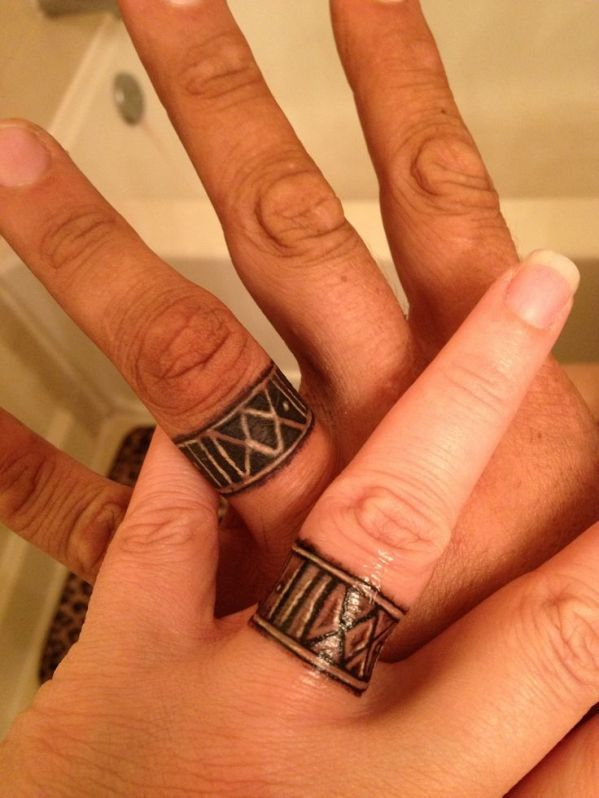 Best Wedding Band Tattoos Ever In World History | Rings ...