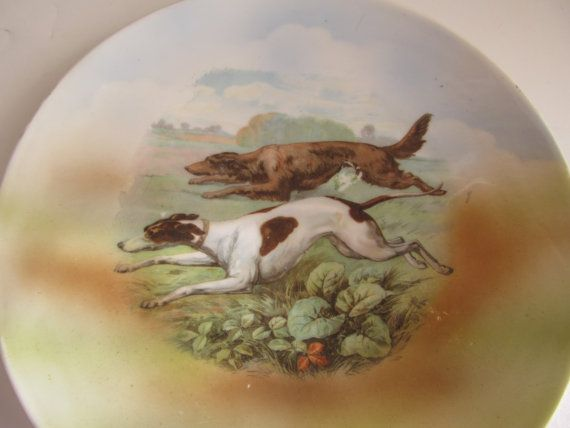 Hunting Dogs Germany Plate Collectors Plates by ReVintageLannie