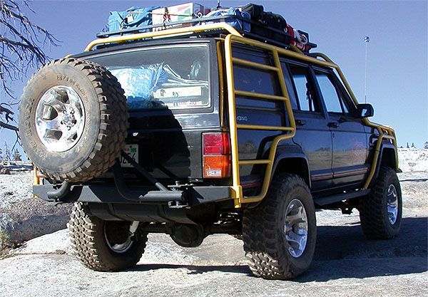 Where Do I Get This Rack And Side Ladder Jeep Cherokee Jeep