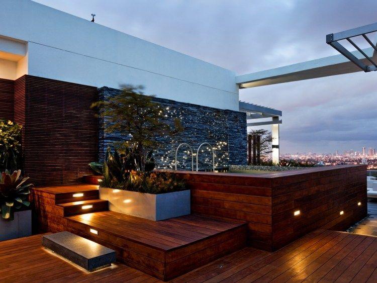 Terrasse Sur Toit Plat Avec Piscine- Paradis Terrestre À Miami