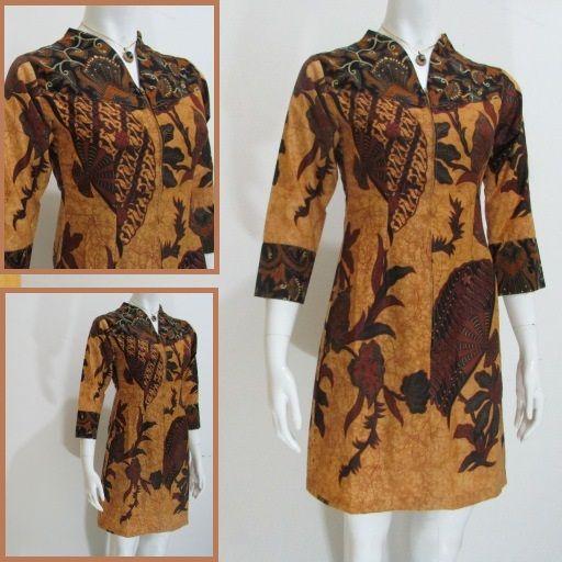 Pin Oleh Mbak Ayu Di Model Dress Batik Modern Terbaru Online Gaun