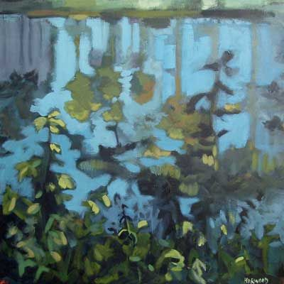 Reflections  by Jennifer Harwood