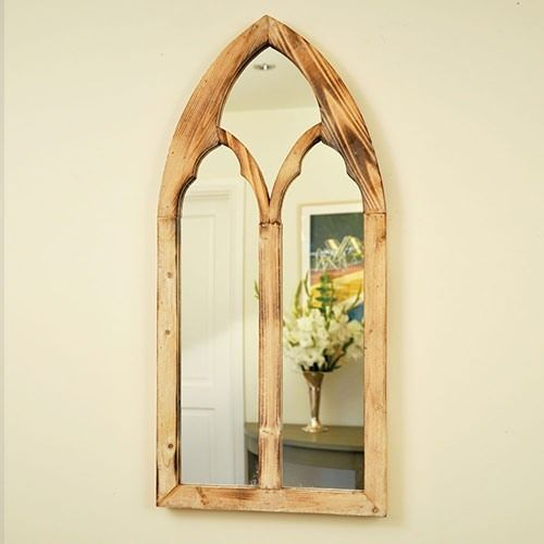 Indoor Shabby Chic Decorative Distressed Gothic Wooden Arch Wall ...