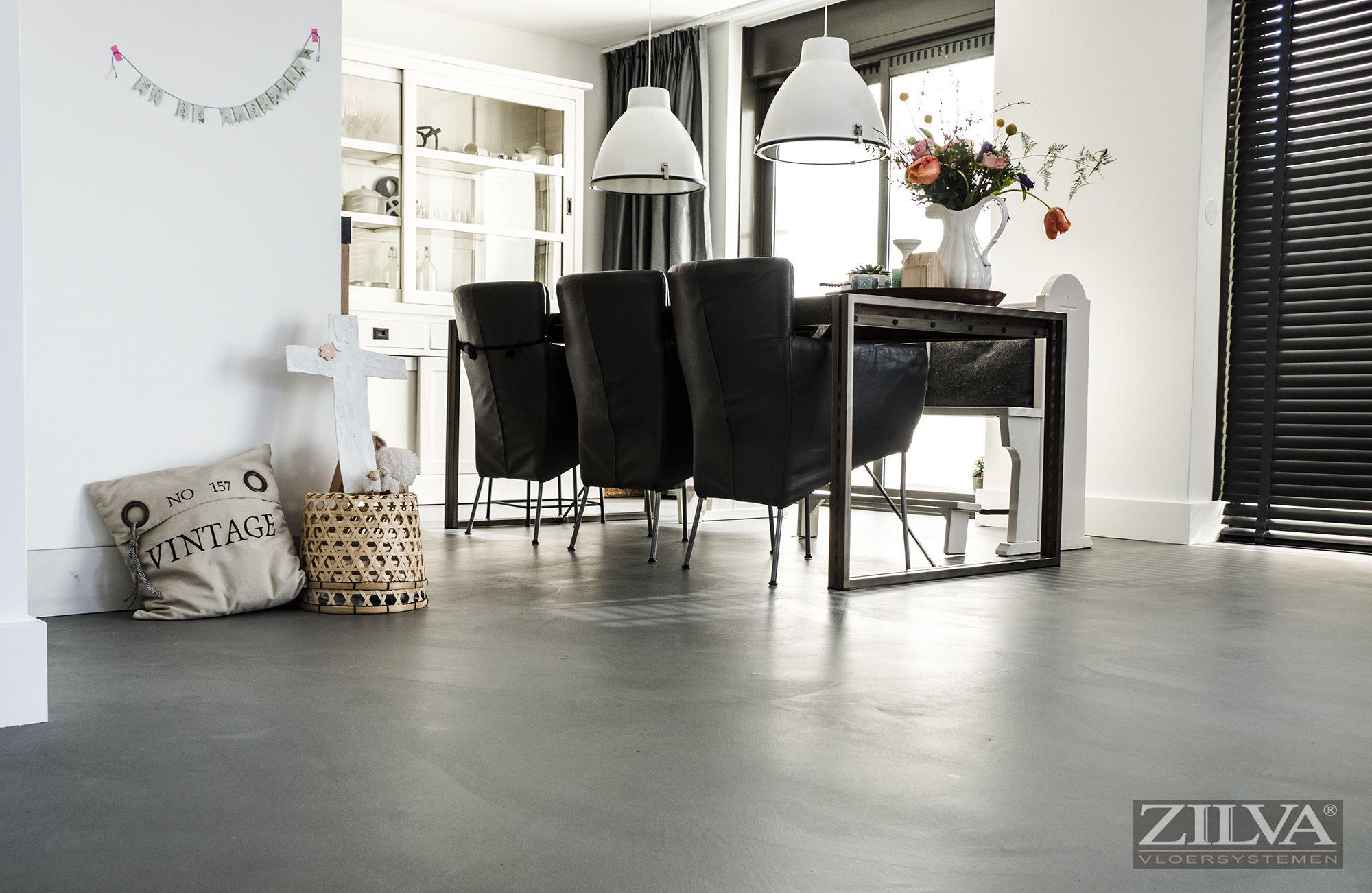 Diningroom | Beton floor | info@zilva.nl