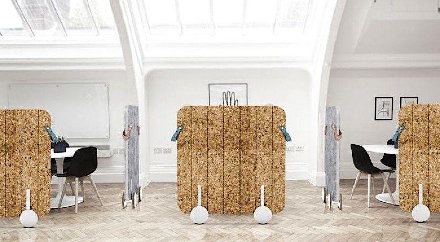 Nachhaltiger Raumteiler Furs Buro Von Myecowall Meine Eco Wand So