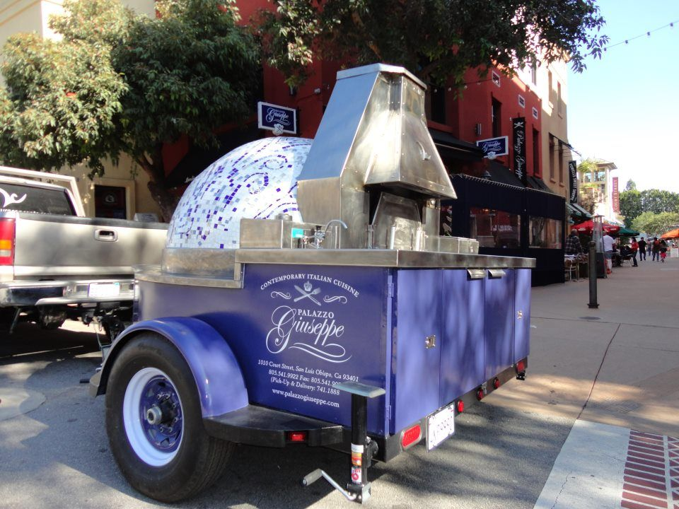 Guiseppe S Mobile Pizza Oven Designed And Built By Leasure Concepts