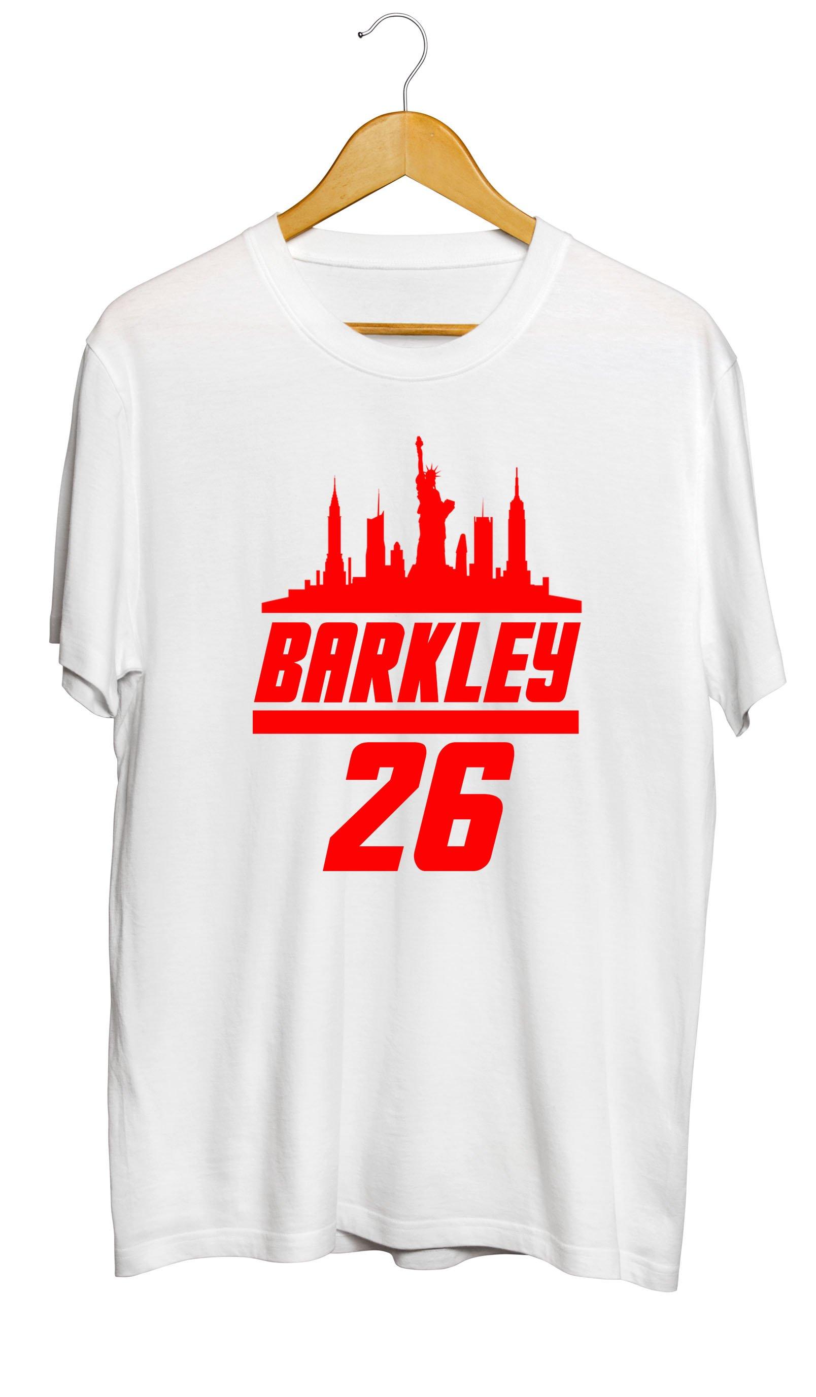 hot sale online 7fa91 e267e Saquon Barkley | Giants T-Shirt | Saquon Barkley | New York ...