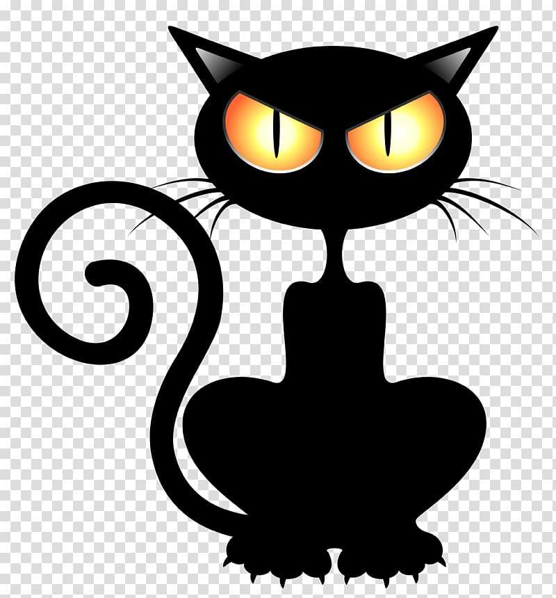 Black Cat Kitten Halloween Cats Transparent Background Png Clipart Black Cat Drawing Black Cat Tattoos Black Cat Sticker