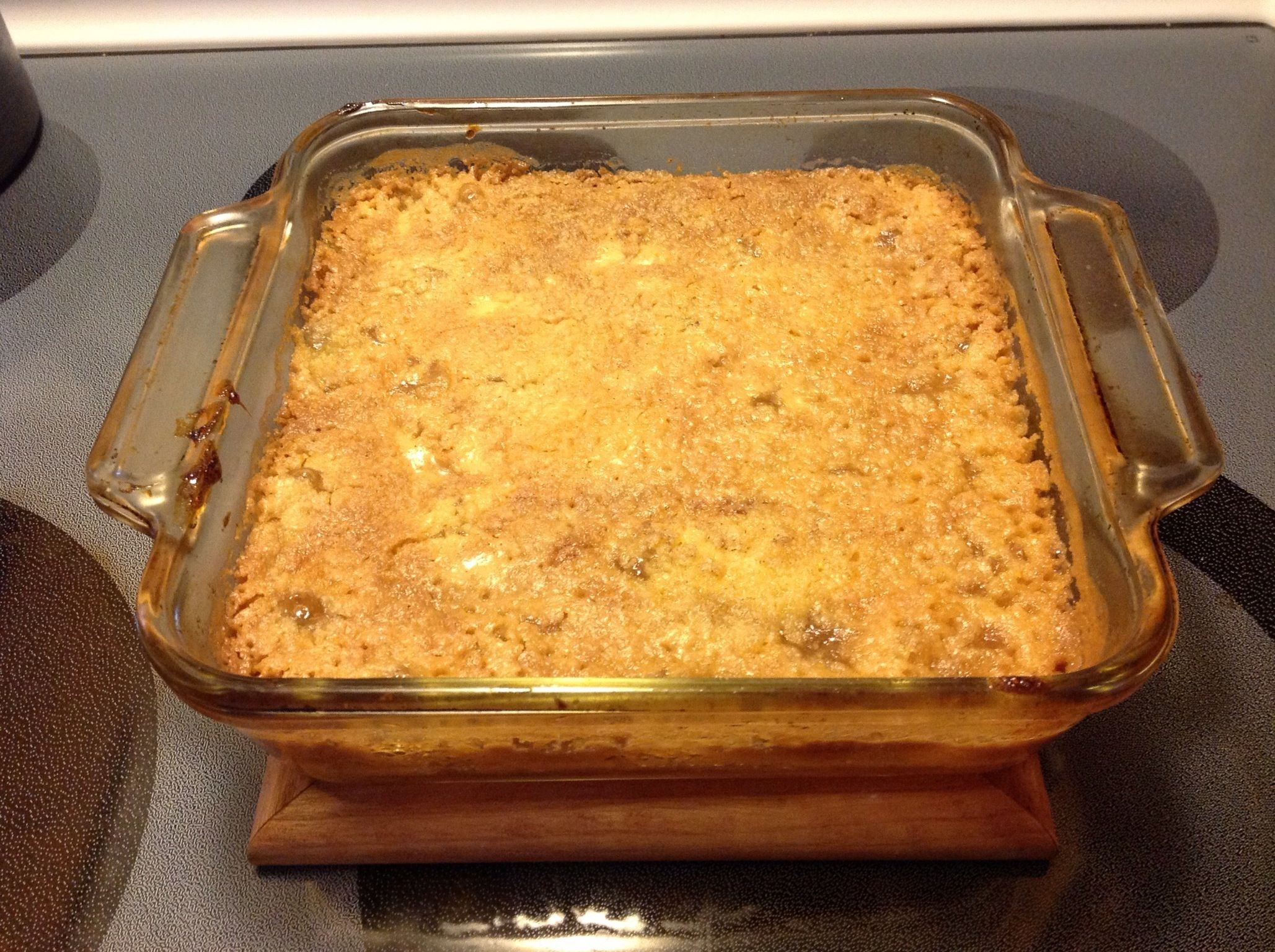 Apple Crisp With Jiffy Yellow Cake Mix