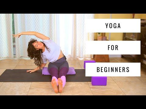 yoga for beginners  full body 20 minute at home yoga