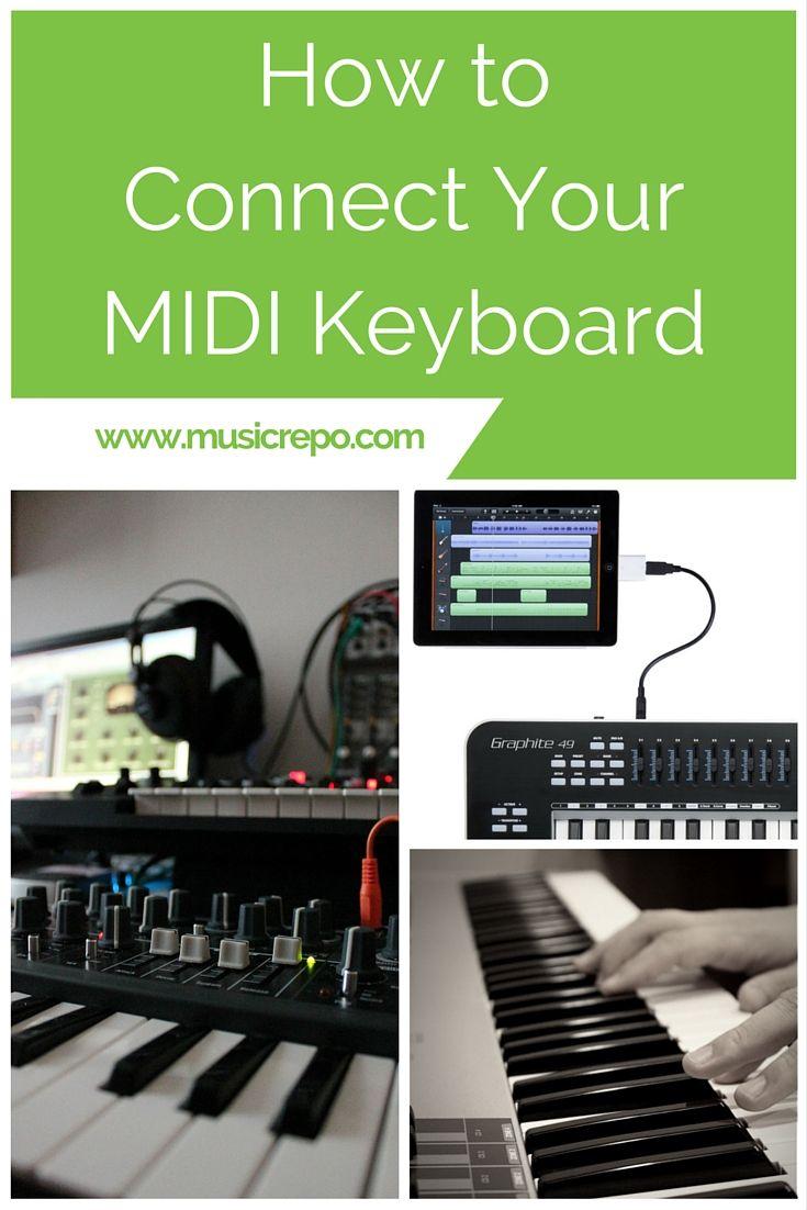 MIDI Connection | Home Recording Studio Setup | Midi