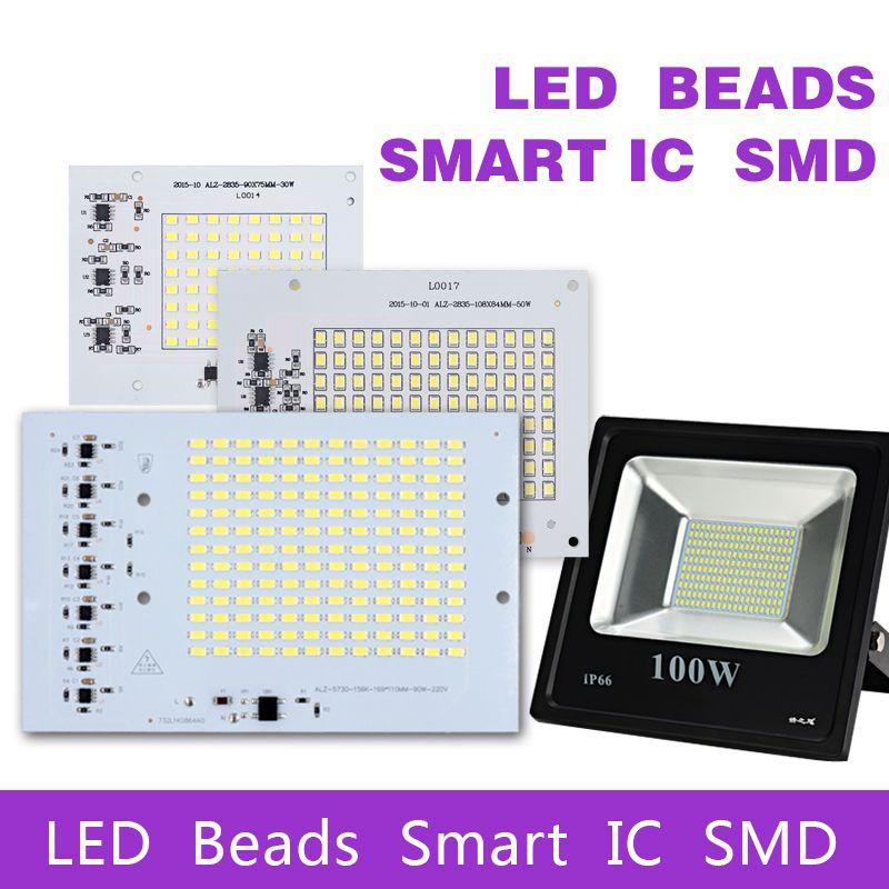 [MingBen] SMD HA CONDOTTO Le Lampade Smart Chip IC 220 V 10 W 20