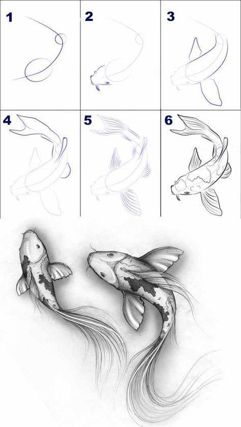 50 + Step by Step Art Sketch