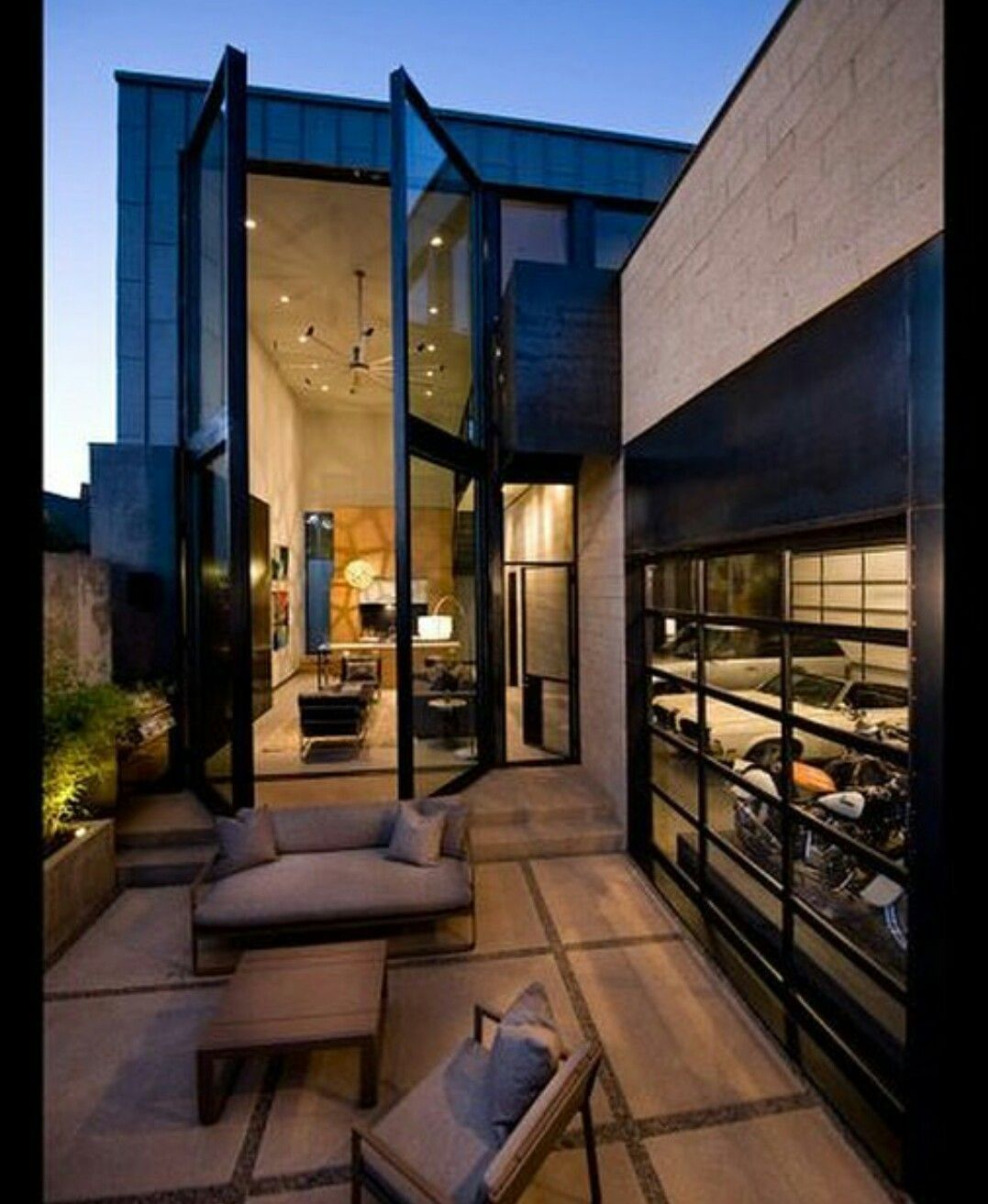 Love the big doors opening denver house tours architecture design house styles