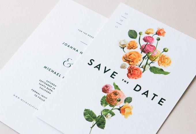 溫馨婚禮邀請卡 | MyDesy 淘靈感