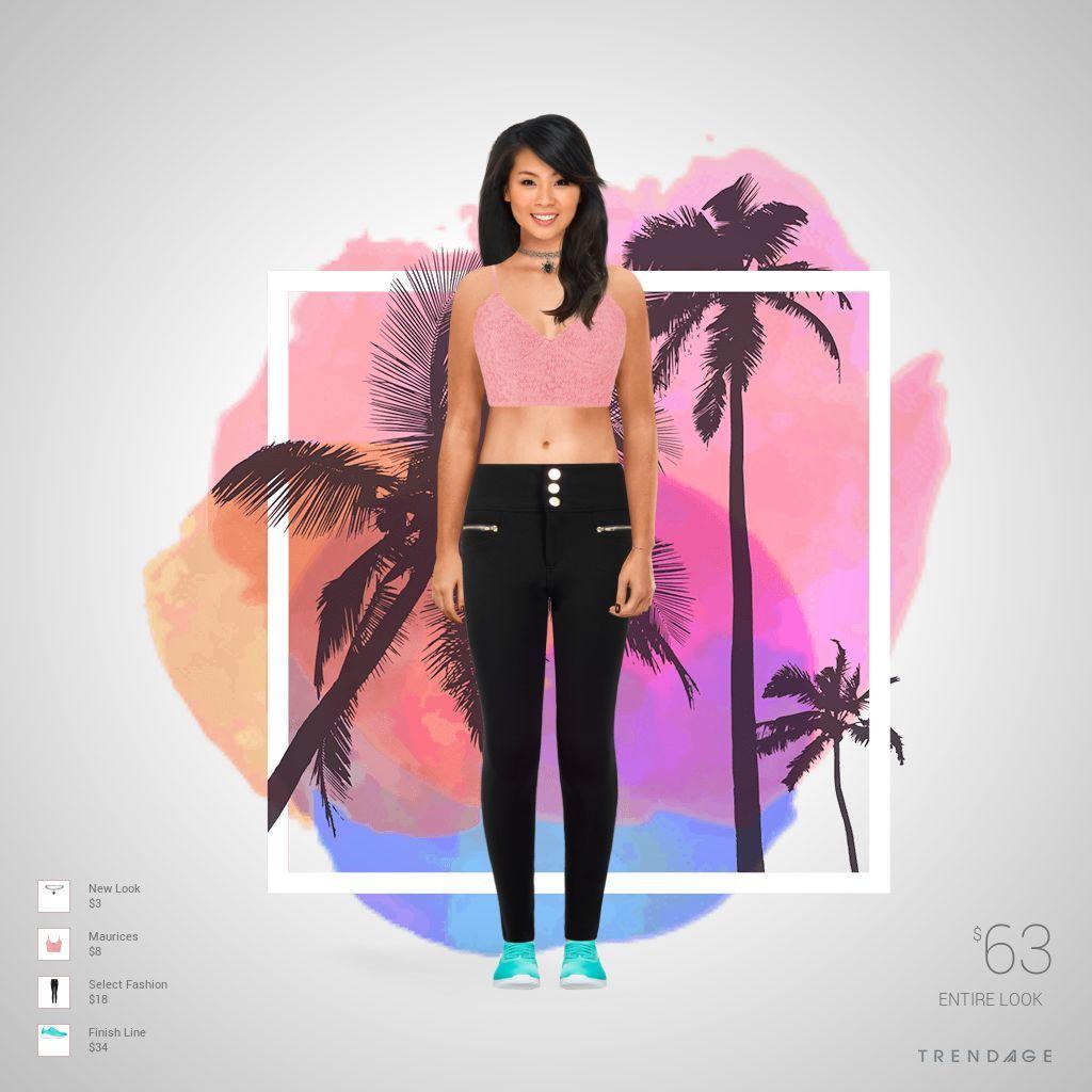 equipo de la manera hecha por Anahi Alejandra el uso de ropa de Select Fashion, Maurices, New Look, Finish Line. Estilo hecho en Trendage.