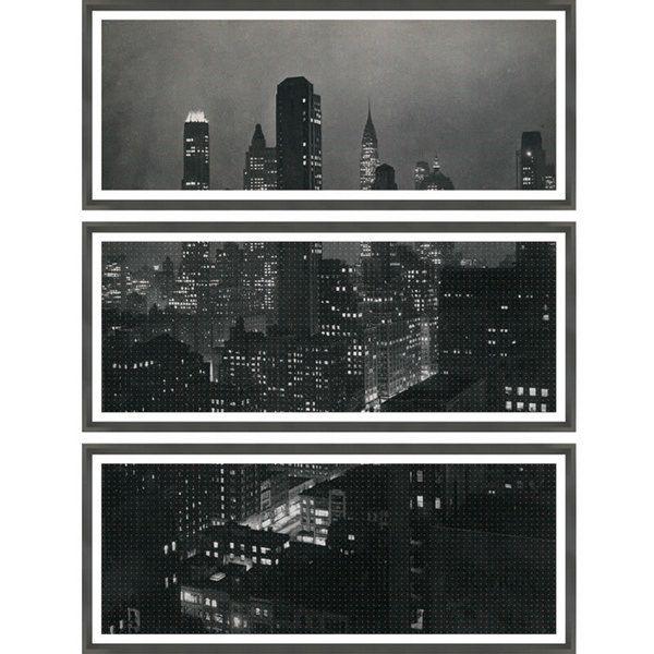 skyline triptych by thom filicia for