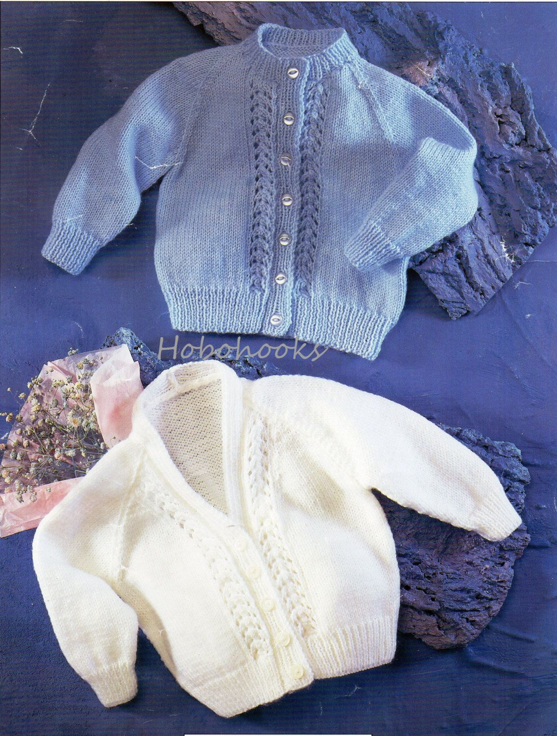 baby / childs 4ply cardigans knitting pattern PDF premature baby ...