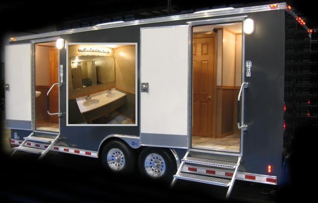 Portable Luxury Restroom Rental Shower Rental Restroom