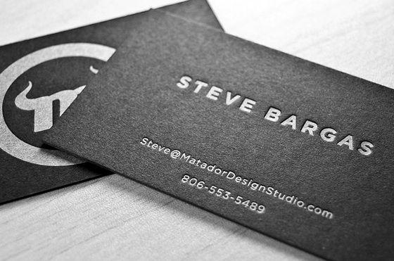Matador business cards Legacy Builders Pinterest Business - letterpress business card