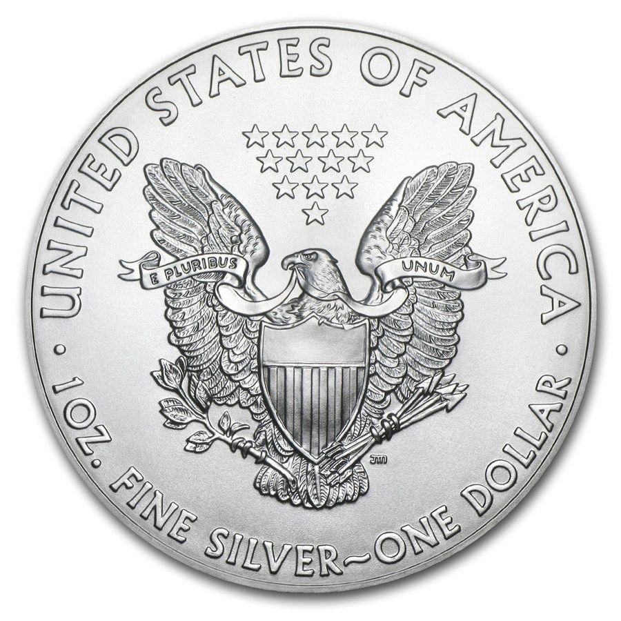 2017 U S A 1 Oz 1 Silver Coin Silver Eagle Monedas De Plata Monedas De Oro Monedas