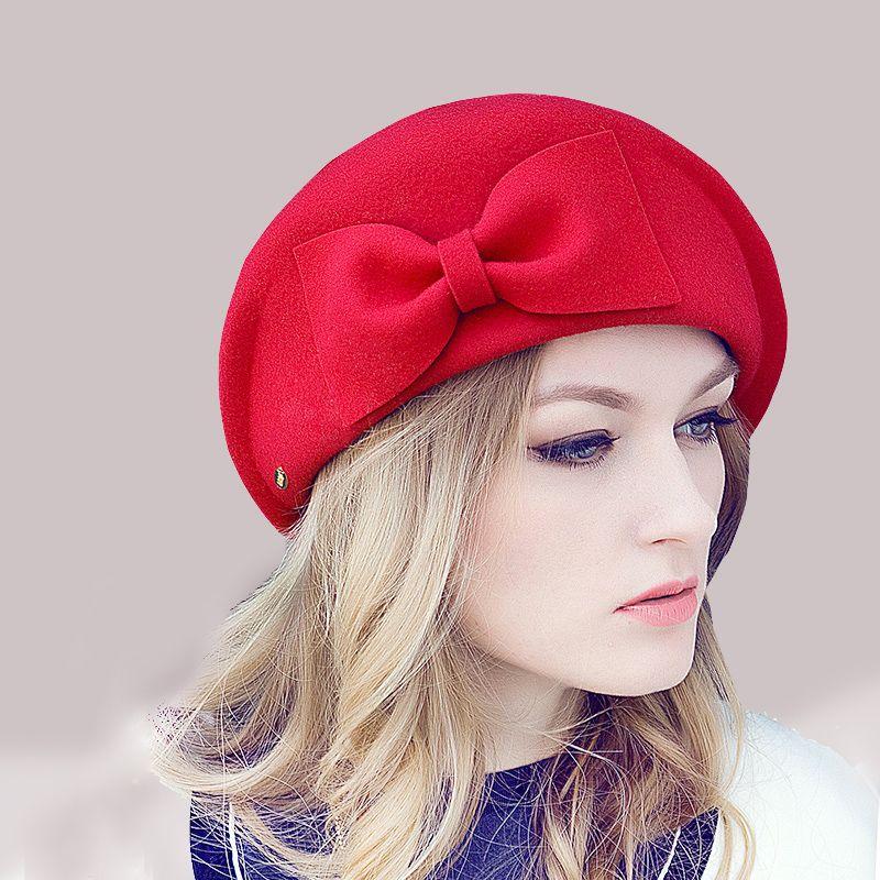 Aliexpress.com  Comprar De la moda europea para mujer linda de lana  australiana fieltro 56bad21e012