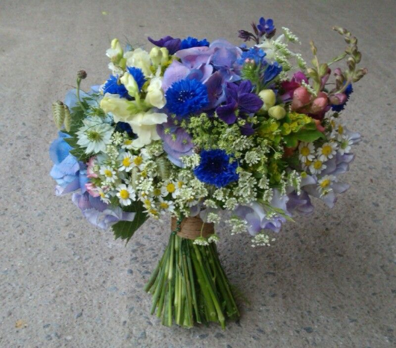 Rustic Wedding Bouquet. British Flowers. By Peamore Flora